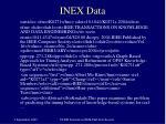 inex data
