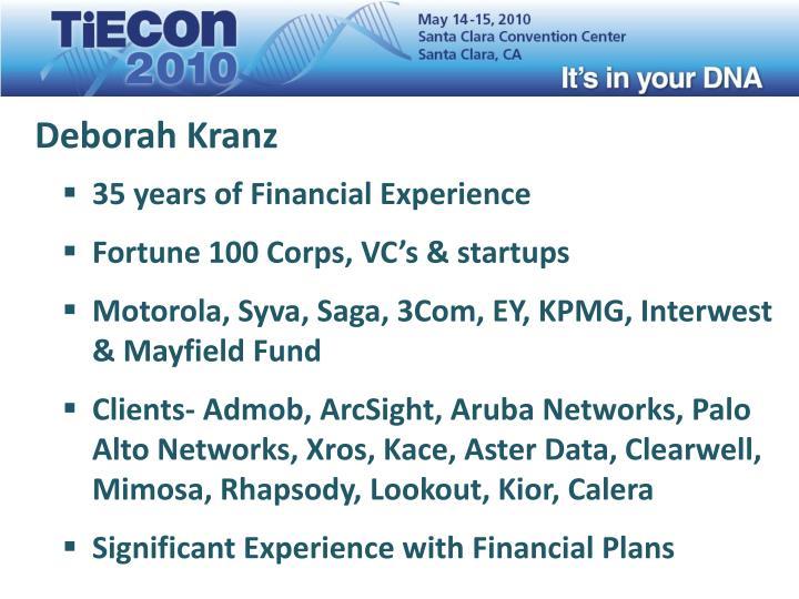 Deborah kranz