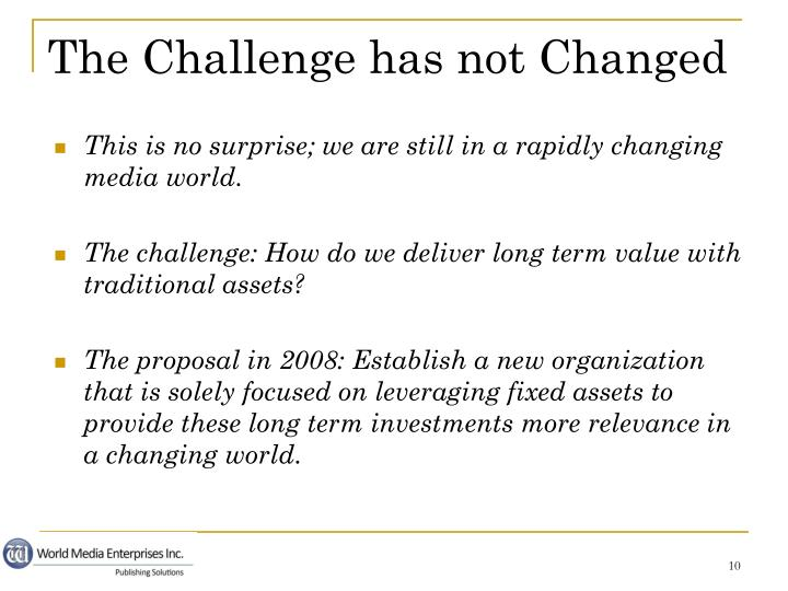 This is no surprise; we are still in a rapidly changing media world.