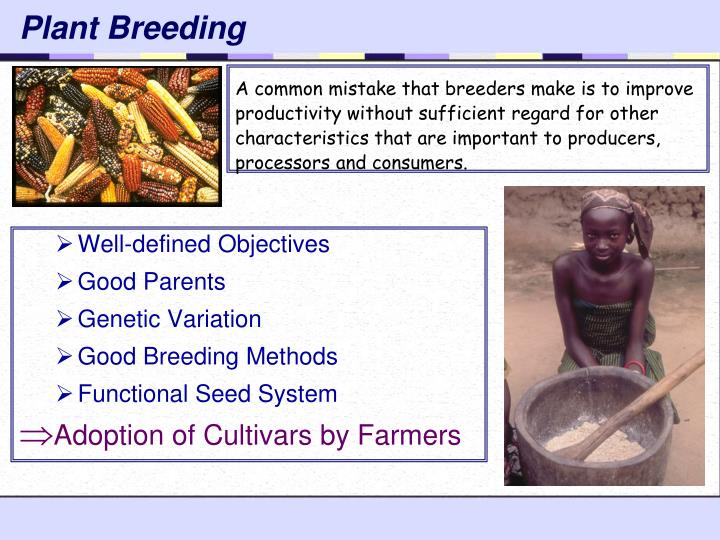 Plant breeding1