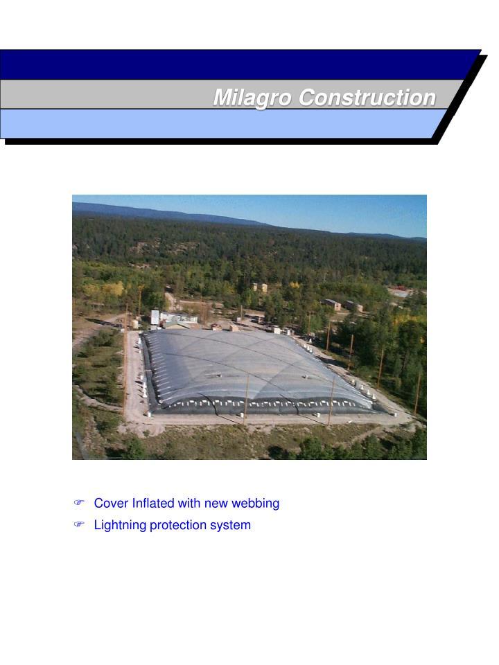 Milagro Construction