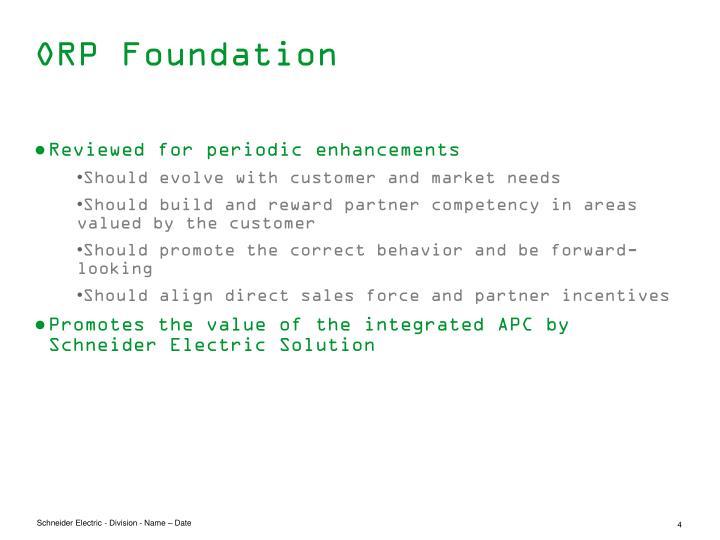 ORP Foundation