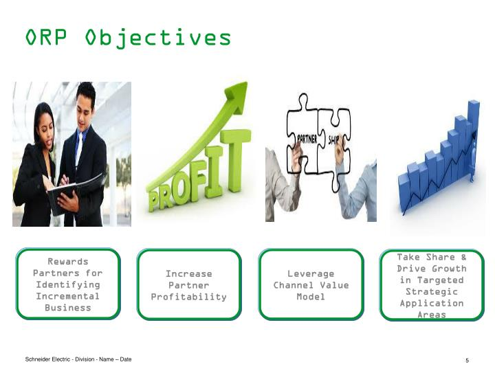 ORP Objectives
