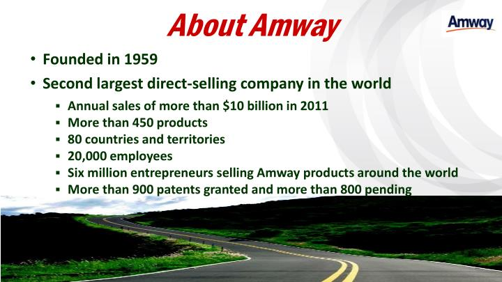 About amway