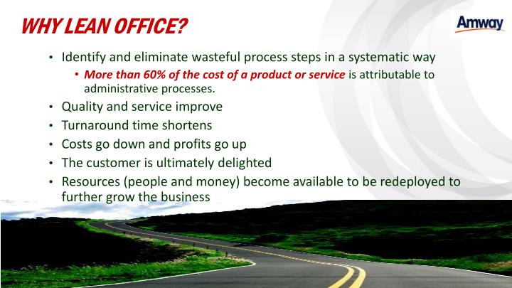 WHY LEAN OFFICE?