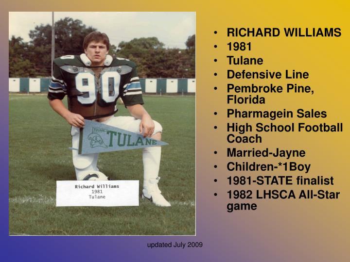 RICHARD WILLIAMS