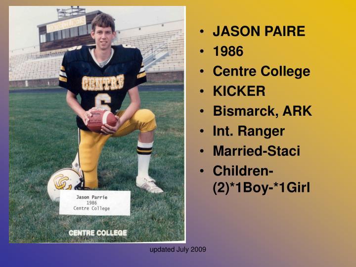 JASON PAIRE
