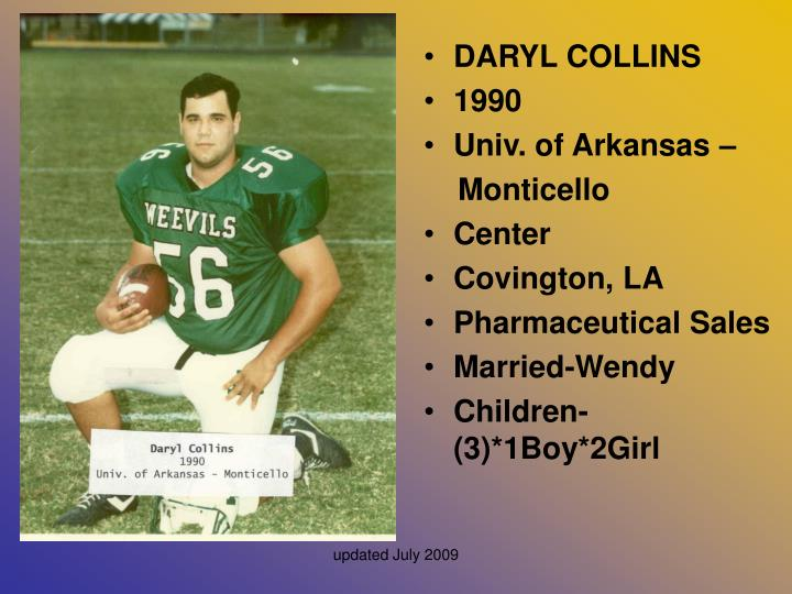 DARYL COLLINS