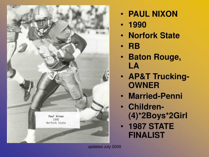 PAUL NIXON