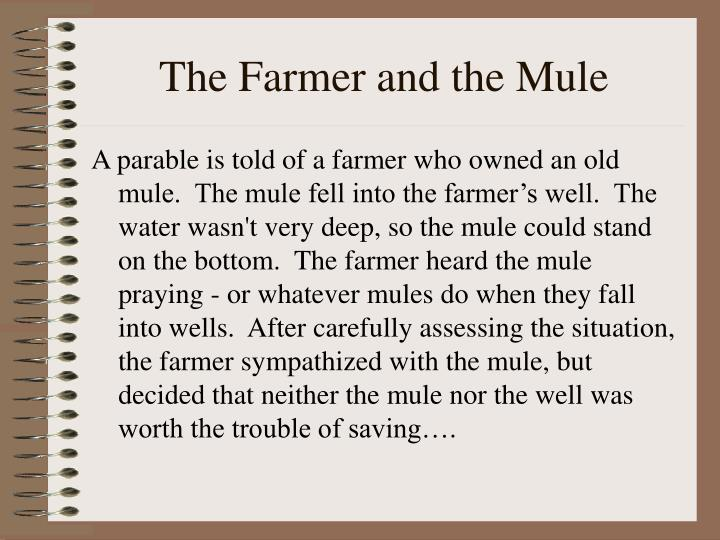The Farmer and the Mule