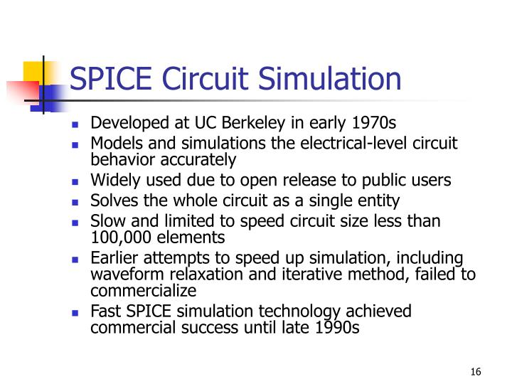 SPICE Circuit Simulation