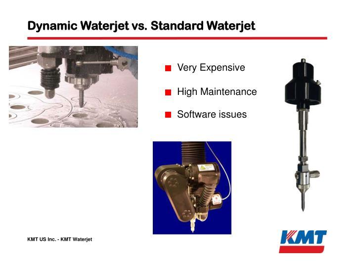 Dynamic Waterjet vs. Standard Waterjet