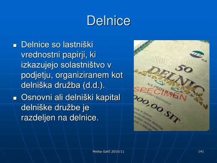 Delnice