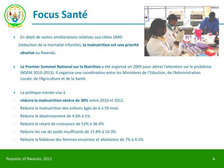 Focus Santé