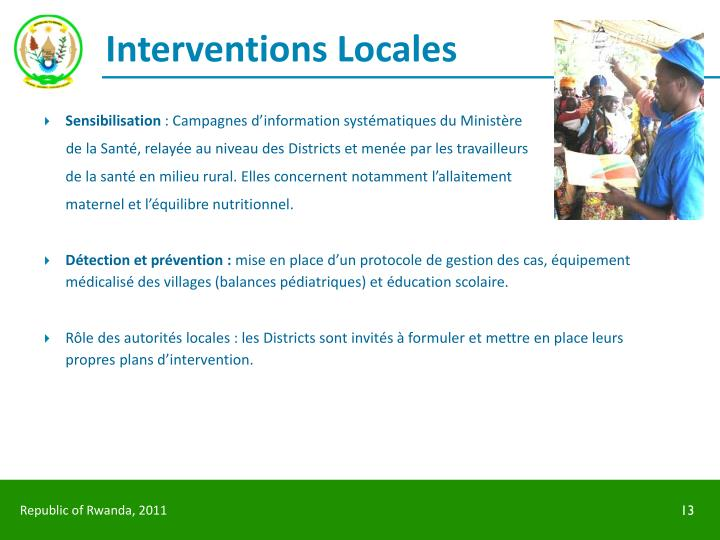 Interventions Locales
