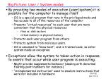 big picture user system modes