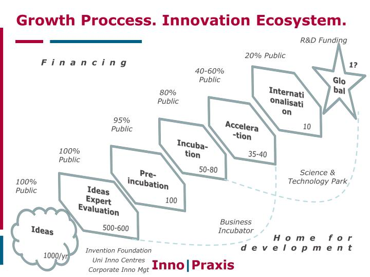 Growth Proccess. Innovation Ecosystem.