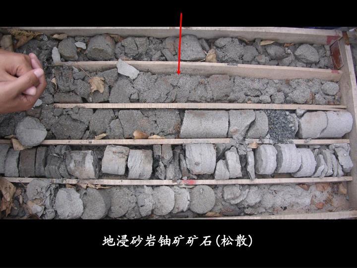 地浸砂岩铀矿矿石