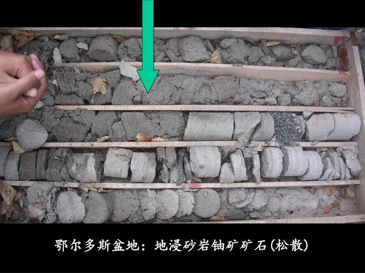 鄂尔多斯盆地:地浸砂岩铀矿矿石