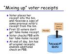 mixing up voter receipts1