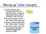 mixing up voter receipts5