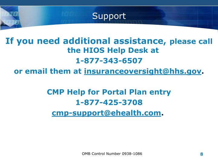 If you need additional assistance,
