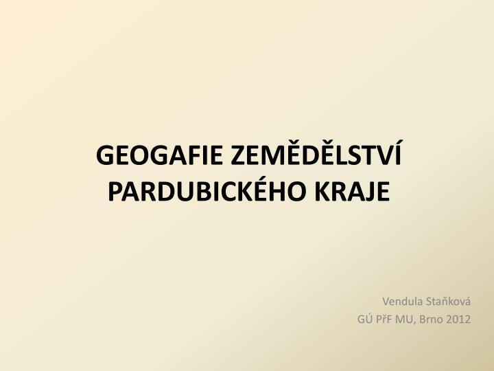 geogafie zem d lstv pardubick ho kraje n.