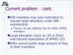 current problem cont1