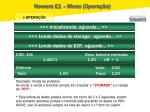 newera e1 menu opera o