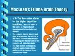 maclean s triune brain theory1
