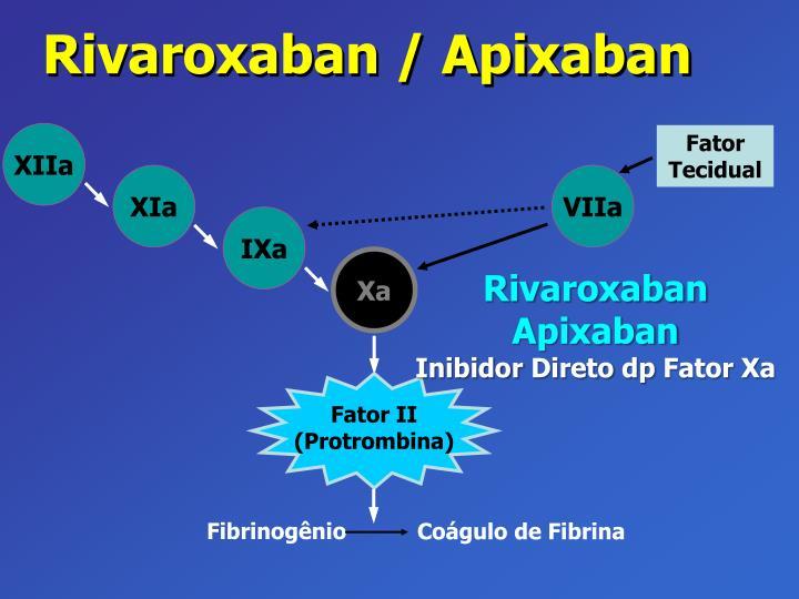 Rivaroxaban / Apixaban