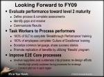 looking forward to fy09