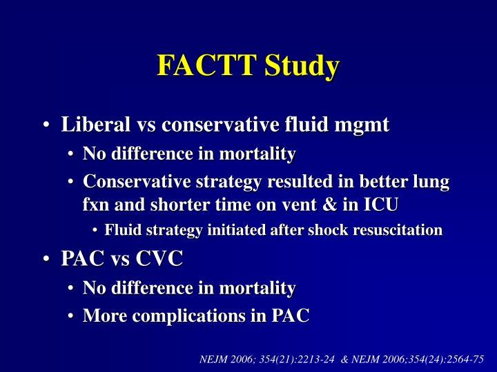 FACTT Study