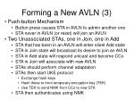 forming a new avln 3