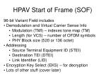 hpav start of frame sof