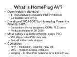 what is homeplug av