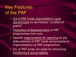 key features of the paf1