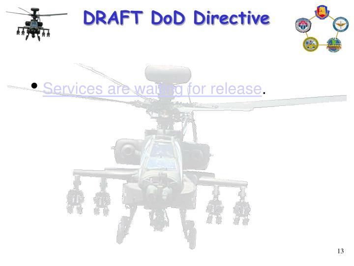 DRAFT DoD Directive