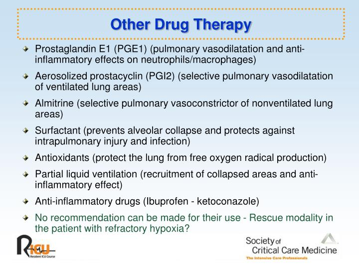 Other Drug Therapy