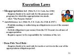 execution laws