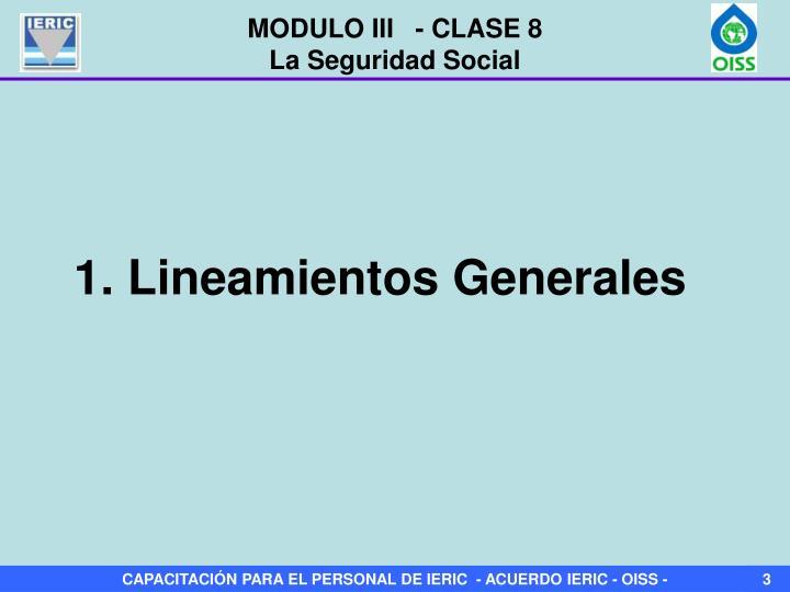 MODULO III   - CLASE 8