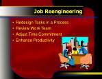 job reengineering