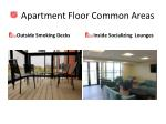 apartment floor common areas