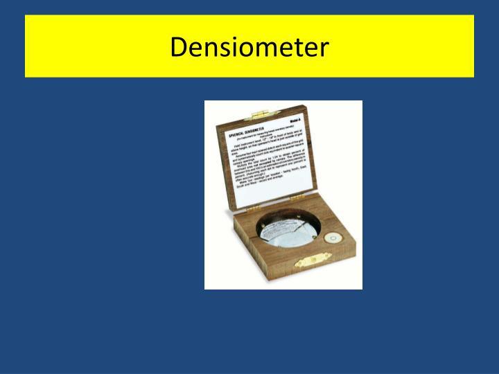 Densiometer