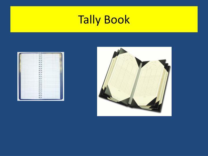 Tally Book