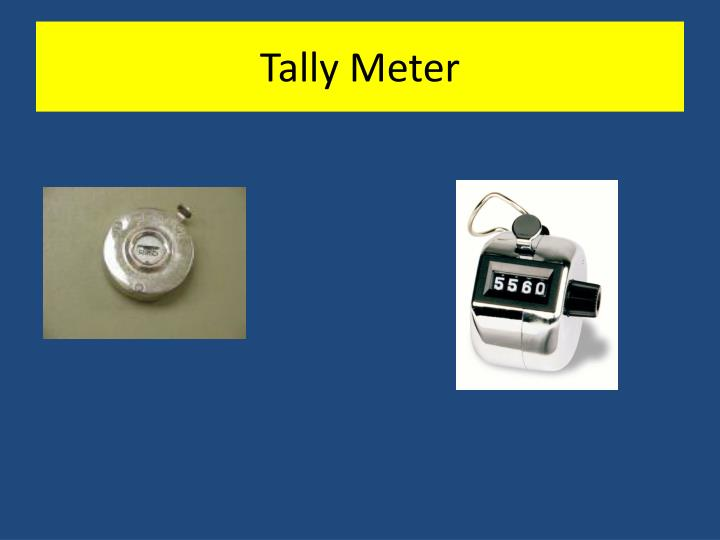 Tally Meter