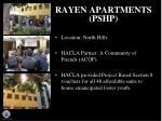 rayen apartments pshp