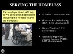 serving the homeless