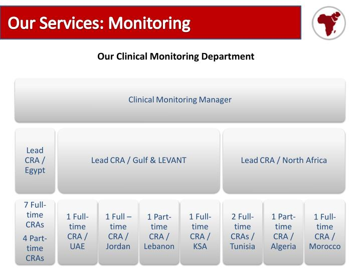 Our Services: Monitoring