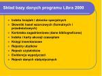 sk ad bazy danych programu libra 2000
